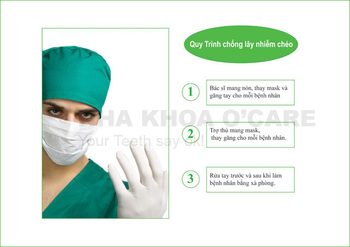 Quy trình kiểm vô trùng soát lây nhiễm