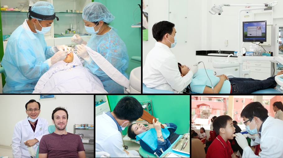 điều trị tại nha  khoa OCARE